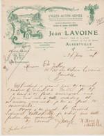 SAVOIE: J. LAVOINE, Cycles, Autos, Armes, Pl. De La Liberté à Alberville / L. De 1908 - Sports & Tourism