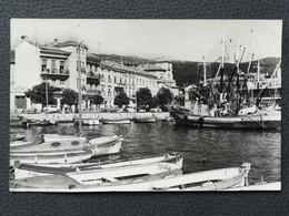 CRIKVENICA - Croatia, Fishing Boat, Fischerboot, Postcard Traveled 1965  (aukR45) - Croatia