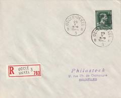 Aangetekende Brief -10% UCCLE-UKKEL - 1946 -10%