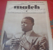 Match L'Intran N°368 Septembre 1933 Kid Chocolate, Louis Chiron, Chiquito De Cambo, Tennis William Tilden - 1900 - 1949