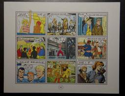 BEL 1999 / BL81 / ** / (10€) : 20e Timbres Bande Dessinée - 20e Verjaardag Strippostzegel - Ongebruikt
