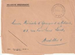 Briefvoorzijde / Devant De Lettre POSTES-POSTERIJEN SMP/CP - 10-5-1961 - Correo Militar