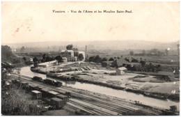 08 VOUZIERS - Vue De L'Aisne Et Les Moulins Saint-Paul - Vouziers