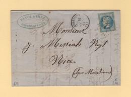 Amberieux - 1 - Ain - GC 78 - 16 Janv 1869 - 1849-1876: Classic Period