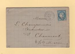 Dammarie Sur Saulx - 53 - Meuse - GC 1268 - 15 Mars 1872 - 1849-1876: Classic Period