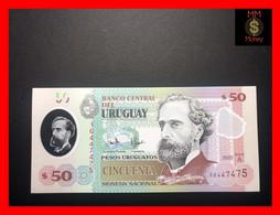 URUGUAY 50 Pesos Uruguayos  2020  P.  New  Serie A  Polymer  UNC - Uruguay
