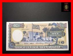 URUGUAY 10 Pesos Uruguayos 1995 P. 73 B A Error  Serie A UNC - Uruguay