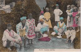 JAMAICA - Coolies Washing - Superb Ethnic Group - Jamaica