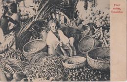 SRI LANKA (Ceylon) - Fruit Seller COLOMBO - Sri Lanka (Ceylon)