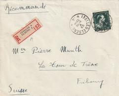 Aangetekende Brief / Lettre IXELLES - ELSENE 23-V-1946 - 1946 -10%