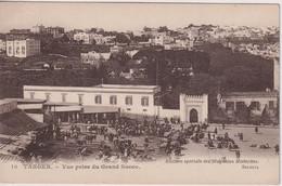 MOROCCO - Tanger - Colur View - Vue Prise Du Grand Socco - Used - Tanger