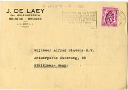 1946 1 Plikart(en) - Postkaart(en) - Zie Zegels, Stempels, Hoofding J. DE LAEY Brugge Bruges - 1935-1949 Small Seal Of The State
