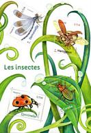 France.bloc Les Insectes De 2017.n**. - Mint/Hinged