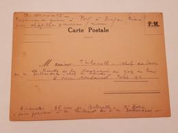 Carte Prisonnier De Guerre Ww2 1940 - 1939-45