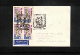 Brazil 1969 Interesting Airmail Postcard - Cartas