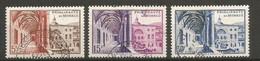 Timbre Monaco En Oblitere N 383/385 - Gebraucht