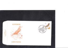 Buzin 2653/4 Grive Mauvis - Gobe-mouches Noir - 1985-.. Birds (Buzin)
