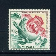 MONACO  -  1963 UPU 50c Never Hinged Mint - Nuevos