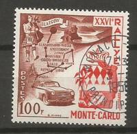 Timbre Monaco En  Oblitere   N 441  Avec Gomme - Gebraucht