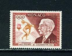 MONACO  -  1963 De Coubatin 1f Never Hinged Mint - Nuevos