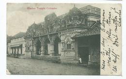 Sri Lanka Ceylon. Hindoo Temple Columbo 1905 Edwardian Stamp - Sri Lanka (Ceylon)