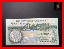 "GUERNSEY 1 £ 2002    P. 52  C    Sig. D.M. Clark   ""low Serial 000429""    UNC - Guernsey"