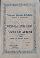STOOMTRAMMIJ. PASSOEROEAN 1905 Indonesië - Ferrocarril & Tranvías