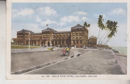 SRI LANKA (Ceylon) Galle Face Hotel Colombo NO VG - Sri Lanka (Ceylon)