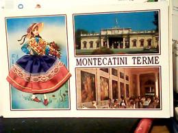 MONTECATINI VEDUTE  CSOTUME RICAMATO STOFFA  N1990 HX3505 - Pistoia