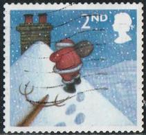 GB 2004 Yv. N°2594 - Noël - 2nd Père Noël Sur Un Toit - Oblitéré - Gebruikt