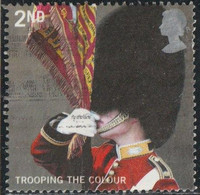 GB 2005 Yv. N°2654 - Trooping The Colour - 2nd Porte-étendard écossais - Oblitéré - Gebruikt