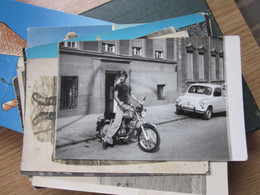 Tomos Motorbike Fica Fiat Car - Motorräder