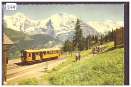 MÜRREN BAHN - TRAIN - TB - BE Berne