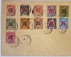 #C106 - Saint-Pierre Et Miquelon, Lettre Décembre 1912 - Série Type Groupe Surchargée - Lettres & Documents