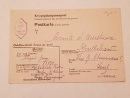 Carte Prisonnier De Guerre Feldpost Nr 20253 1942 - 1939-45