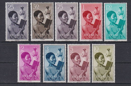 RIO MUNI 1960 - Serie Completa Nueva Sin Fijasellos Edifil Nº 1/9 - MNH - - Riu Muni
