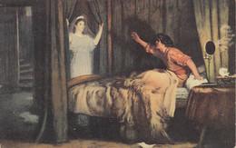 BC40. Vintage Postcard. Painting.  Speak, Speak. By John Everett Millais. - Pittura & Quadri