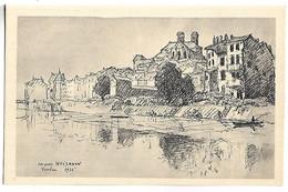 VERDUN - Les Bords De La Meuse D'après Un Dessin De J. WEISMANN - Verdun