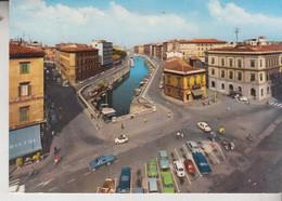LIVORNO PIAZZA CAVOUR E SCALI D'AZELIO VG - Livorno