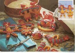 Portugal & Maximum Card, Madeiran Handicrafts, Mass Dolls, Funchal 1995 (98) - Andere