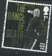GROSSBRITANNIEN GRANDE BRETAGNE GB 2018 THE OLD VIC:THE DANCE OF DEATH 1967 1ST USED 1ST SG 4125 MI 4254 YT 4674 SC 3765 - Gebruikt