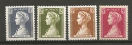 Timbre Monaco En Neuf  ** N  478/479/480/481 - Unused Stamps