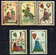 """Liechtenstein1961 """"Minnesänger"""" Mi.Nr.406-10 Postfrisch (DC412) - Neufs"""