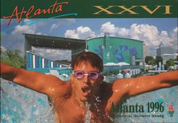 USA Postcard 1996 Atlanta Olympic Games Mint (G123-40) - Estate 1996: Atlanta