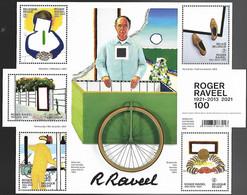Belg. 2021 - Roger Ravel ** - Unused Stamps