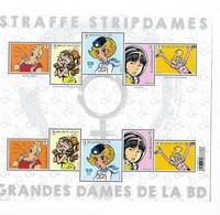 Belg. 2021 - Grandes Dames De La BD ** - Unused Stamps