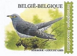 Belg. 2021 - Le Coucou Gris ** (timbre Pour Associations) - Unused Stamps