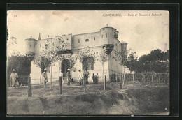 CPA Kroumirie, Poste Et Douane à Babouch - Tunisia