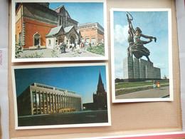 Russie ( Moscou Lot De 28 Carte Postales Dans Une Pochette ) Neuves  Editions Du Progres Moscou - 5 - 99 Postcards