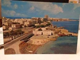 Cartolina Gallipoli Prov Lecce  Panorama Riviera Di Tramontana Le Fontanelle Stazione Ferroviaria - Lecce